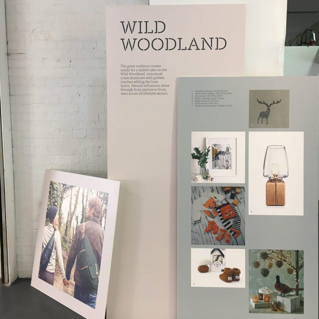 Top Drawer Wild Woodland Trend Board