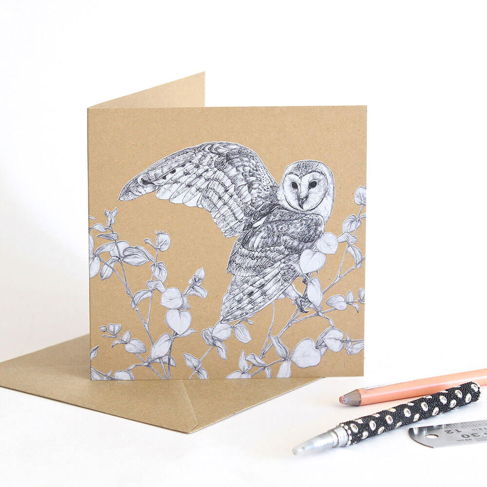 Barn-Owl-Greeting-Card-Sky-Siouki
