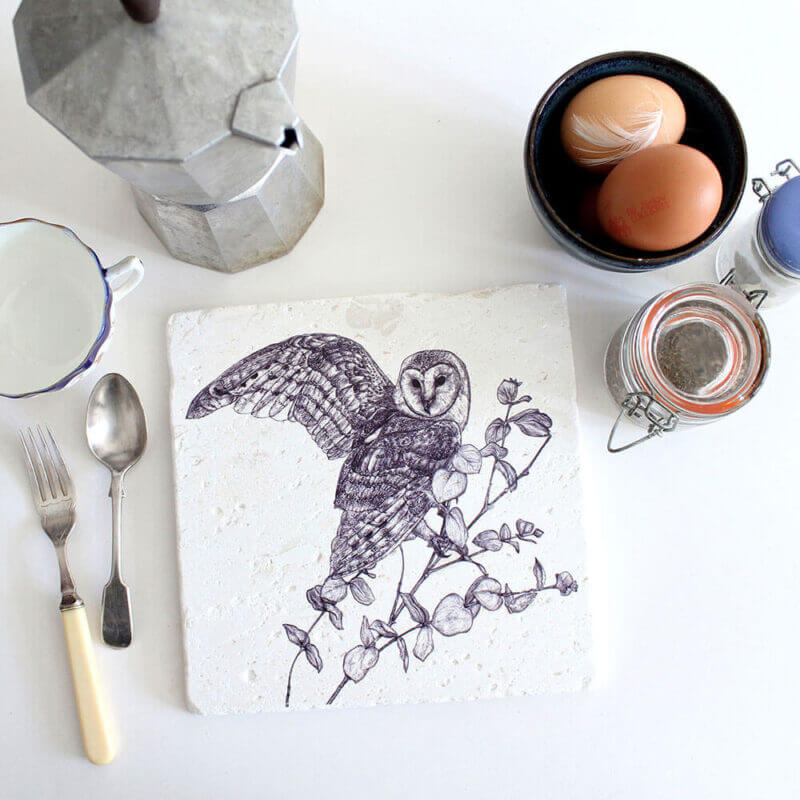 Barn-Owl-Natural-Stone-Placemat-Sky-Siouki