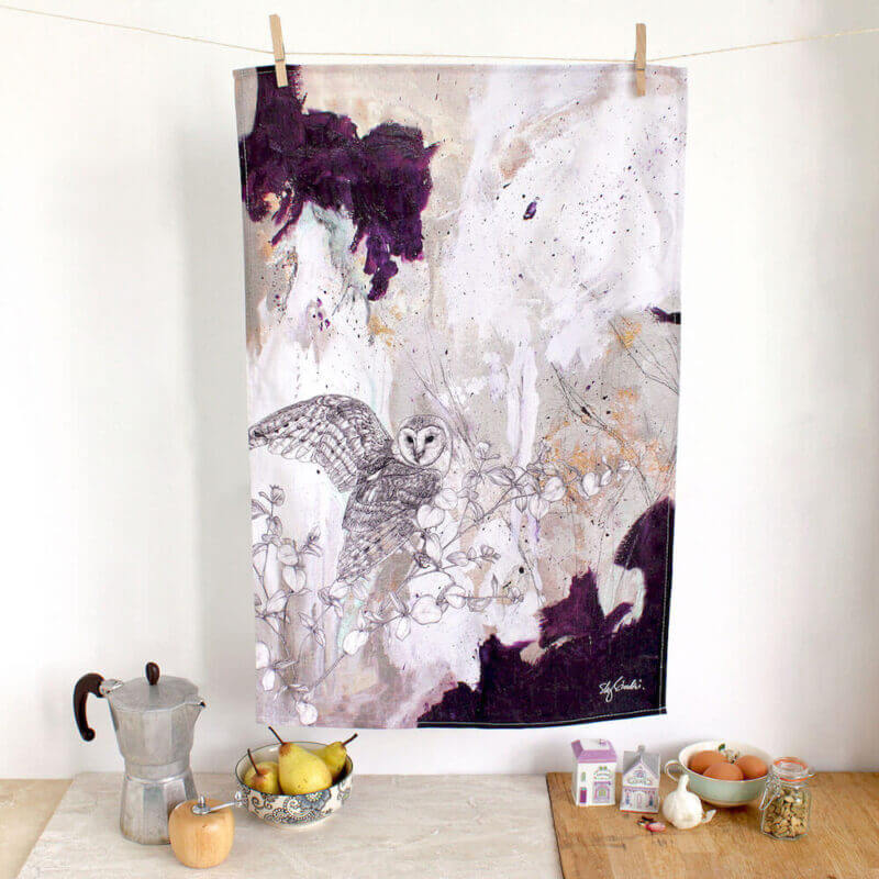 Barn-Owl-Tea-Towel-Sky-Siouki