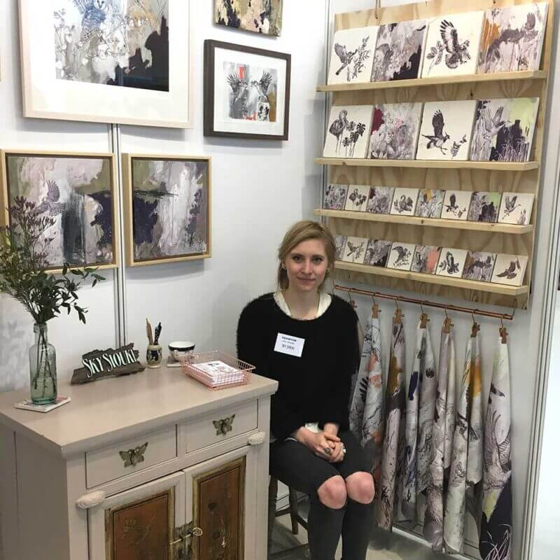 Me on my stand at BCTF 2018