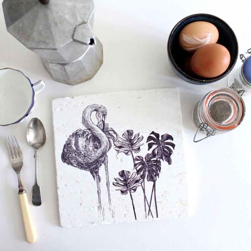 Caribbean-Flamingo-Natural-Stone-Placemat-Sky-Siouki