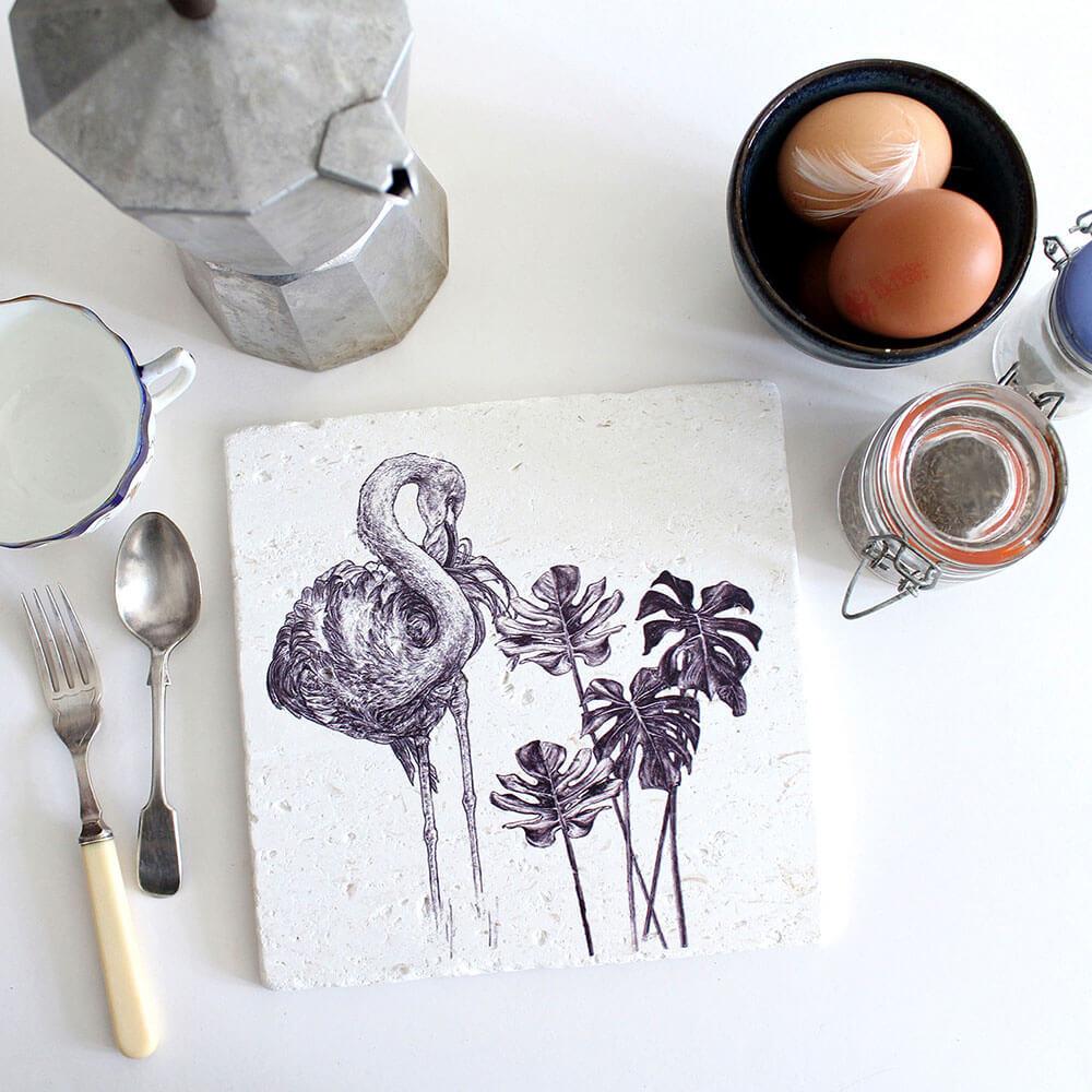 Caribbean-Flamingo-Natural-Stone-Placemat-Sky-Siouki