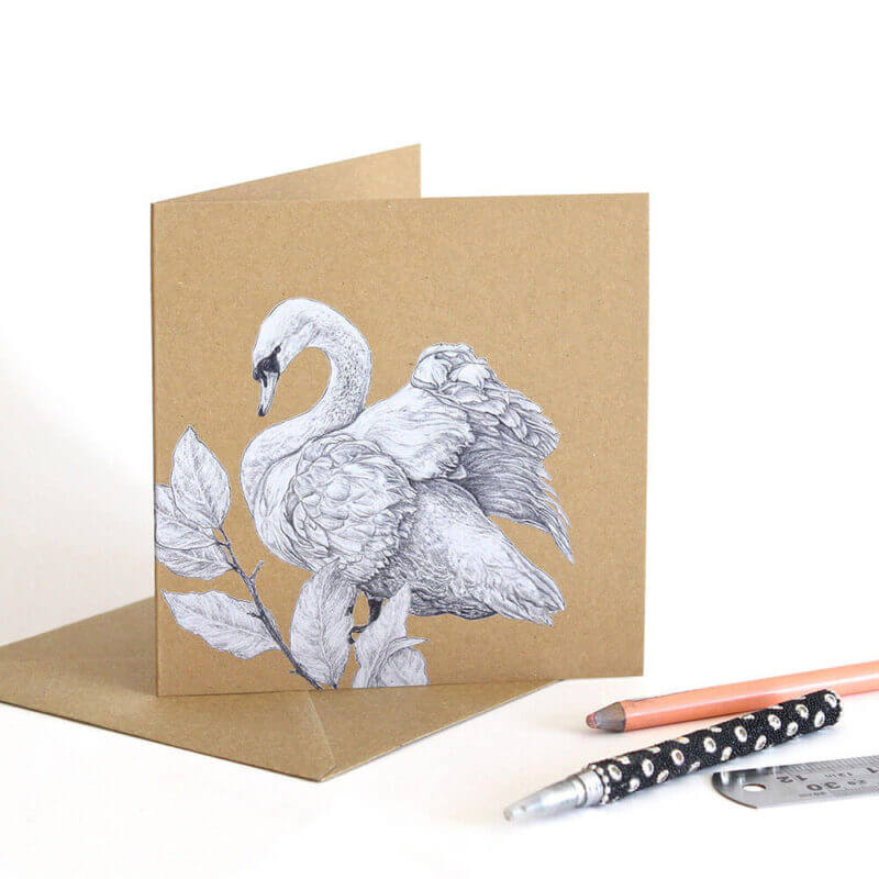 Mute-Swan-Greeting-Card-Sky-Siouki