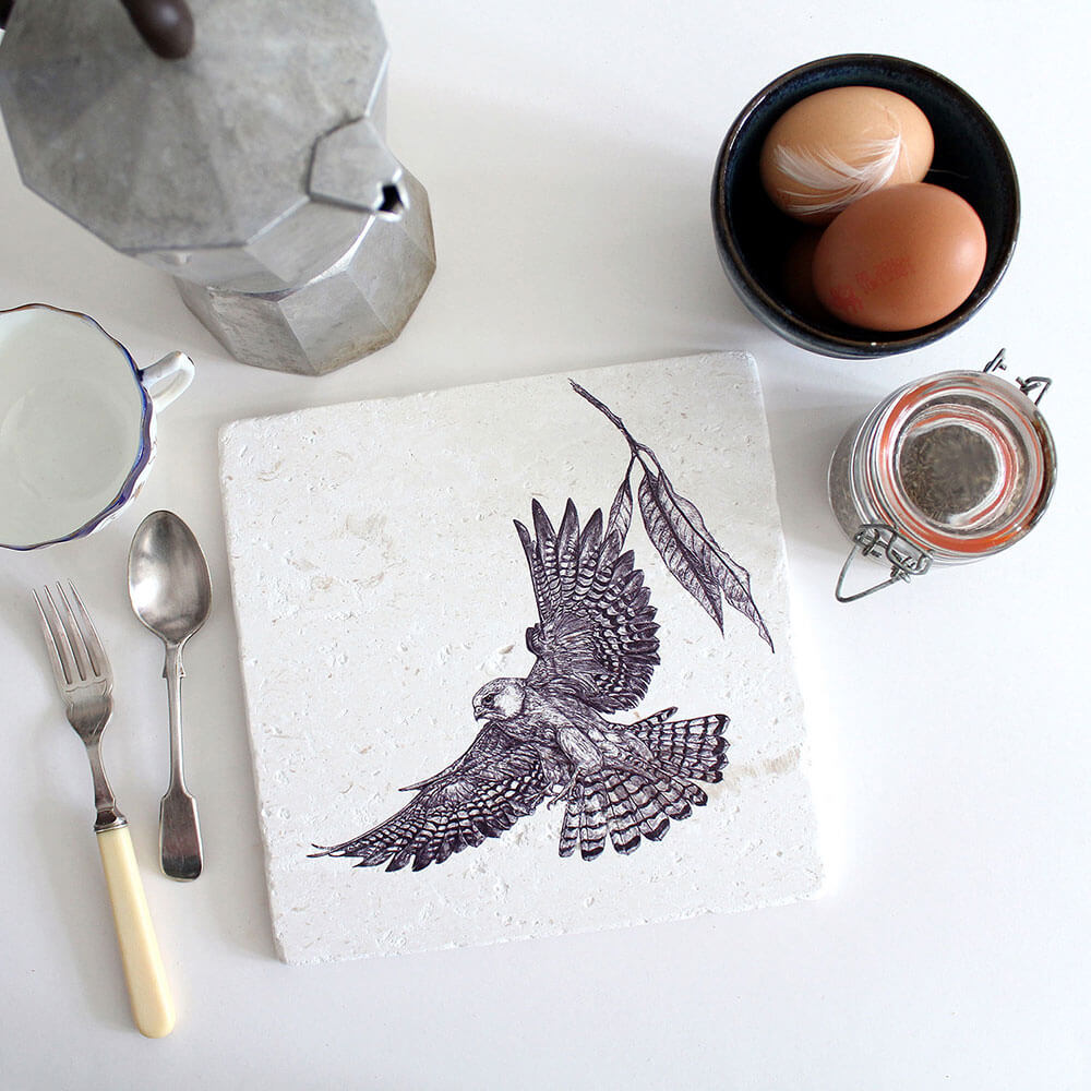 Red-Footed-Falcon-Natural-Stone-Placemat-Sky-Siouki