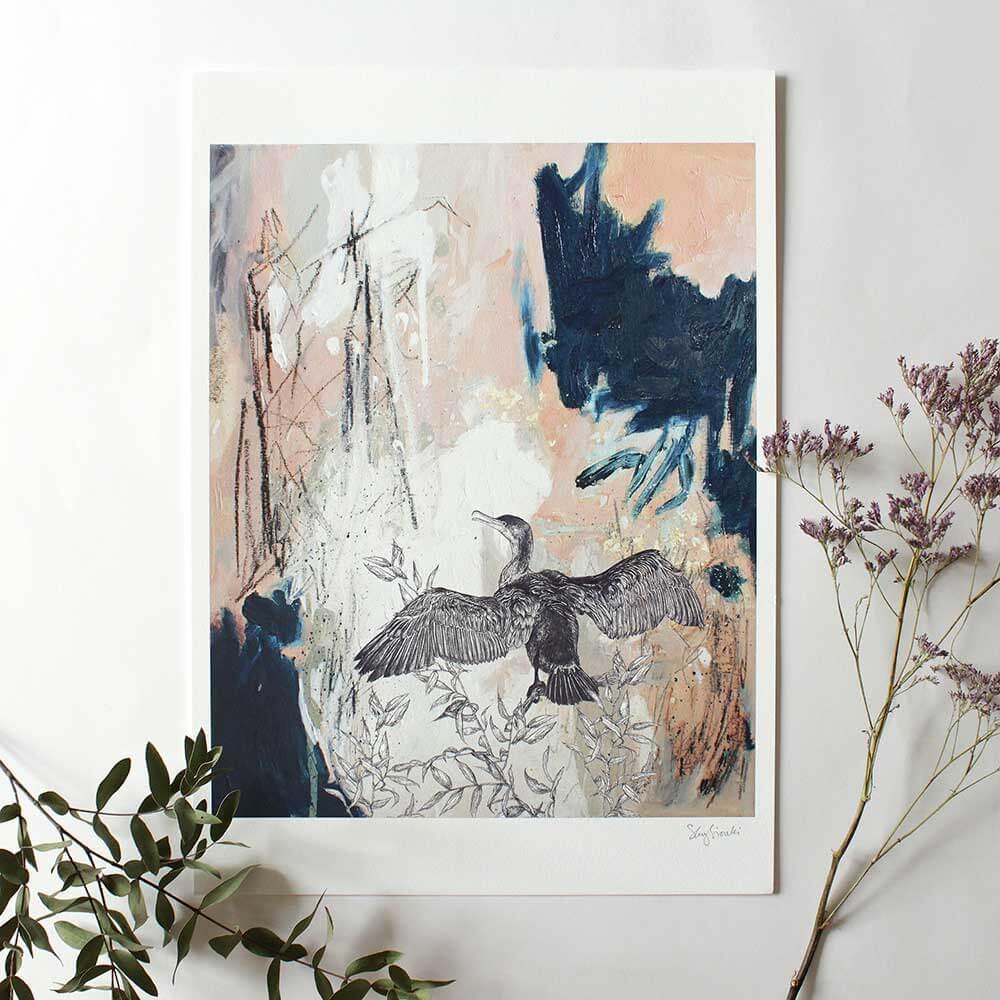 Cormorant-Giclee-Print-Sky-Siouki