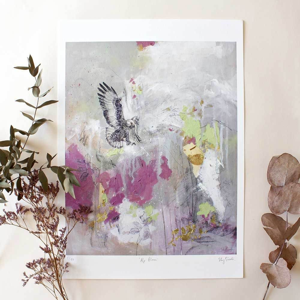 Alp Bloom - Limited Edition Giclee Print