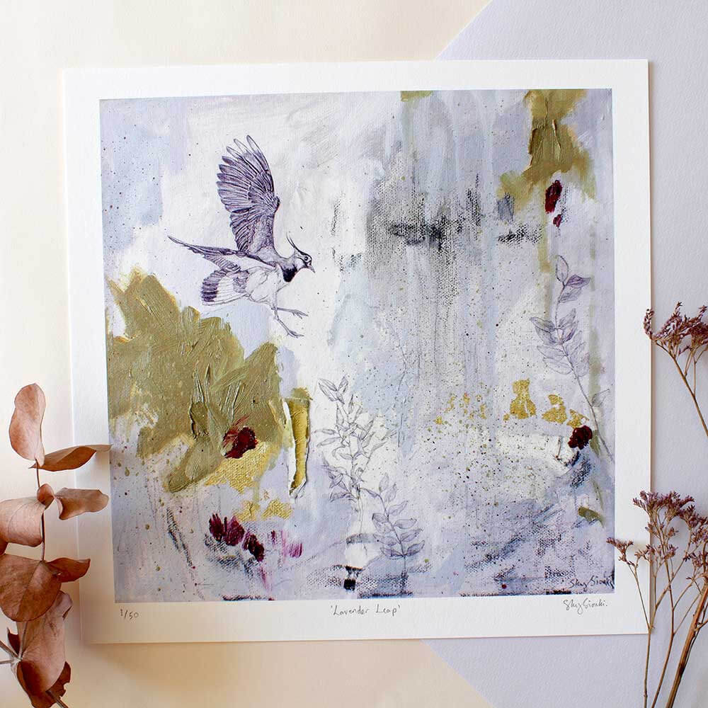 Lavender Leap - Limited Edition Giclee Print