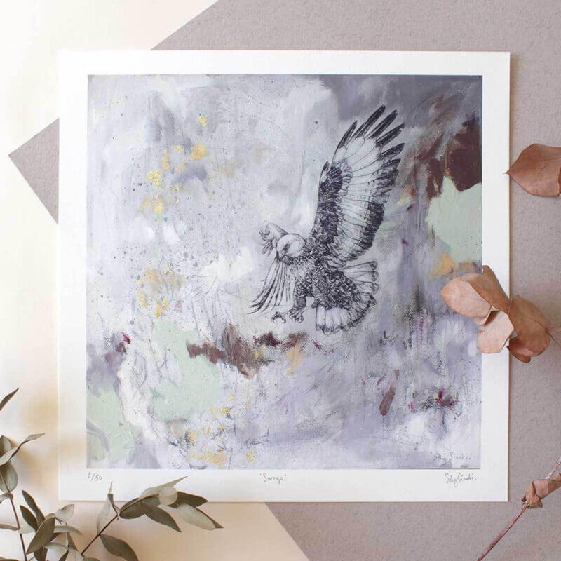 Swoop - Limited Edition Giclee Print