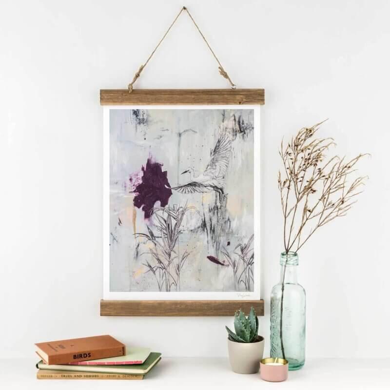 Little-Egret-Art-Print-Sky-Siouki