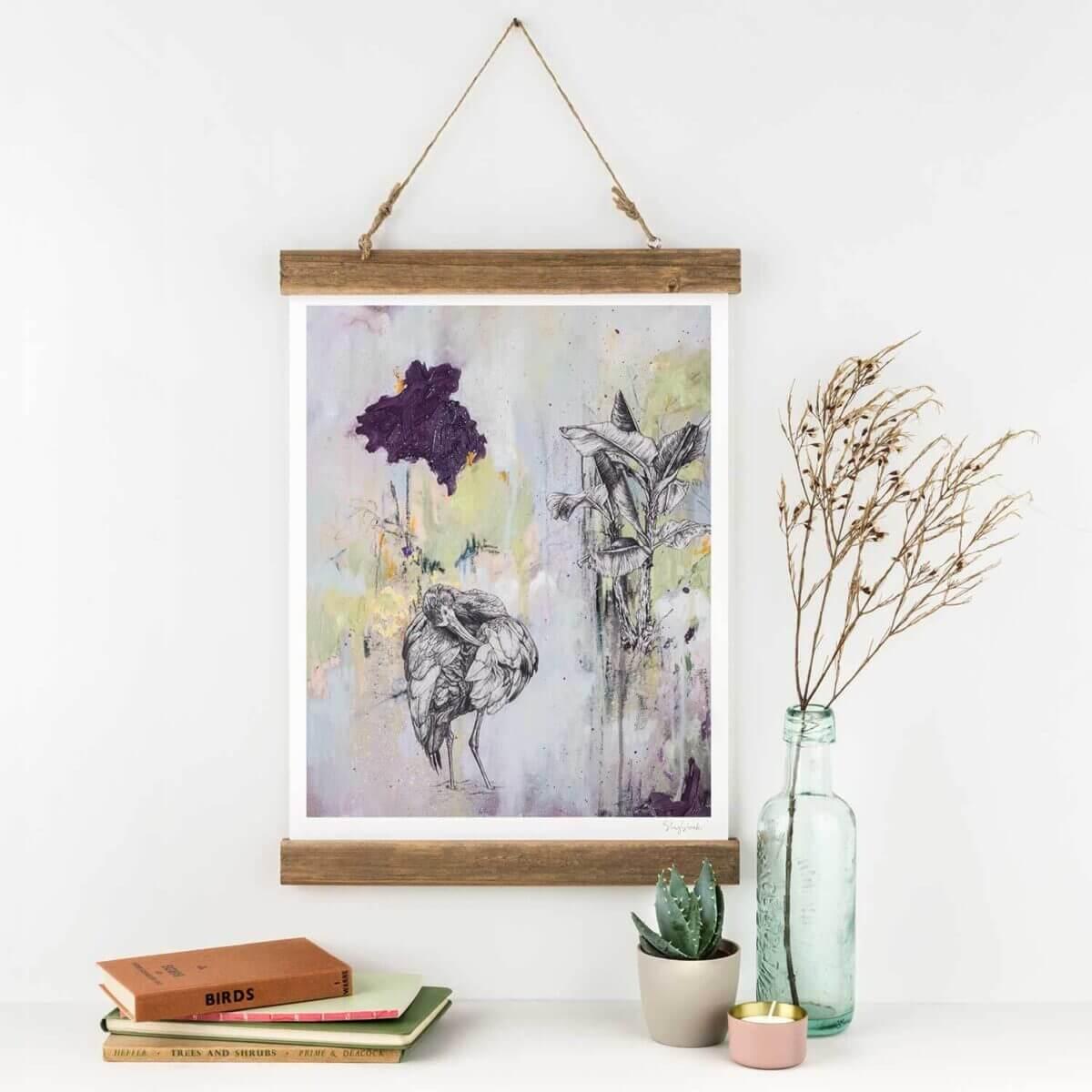 White-Faced-Ibis-Art-Print-Sky-Siouki