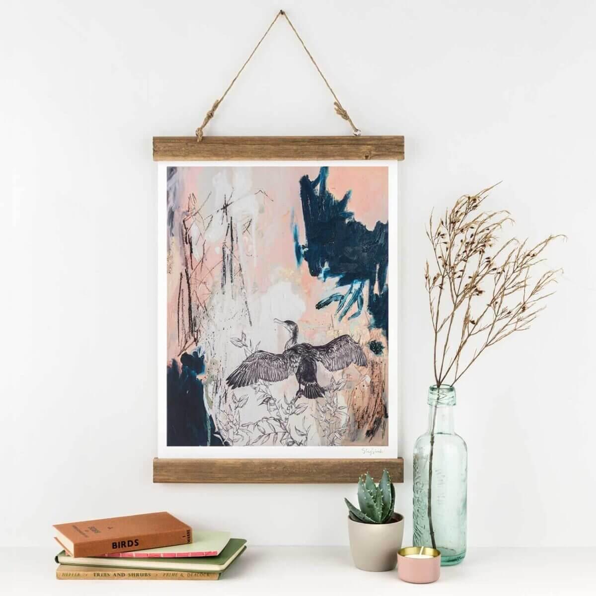 Cormorant-Art-Print-Sky-Siouki