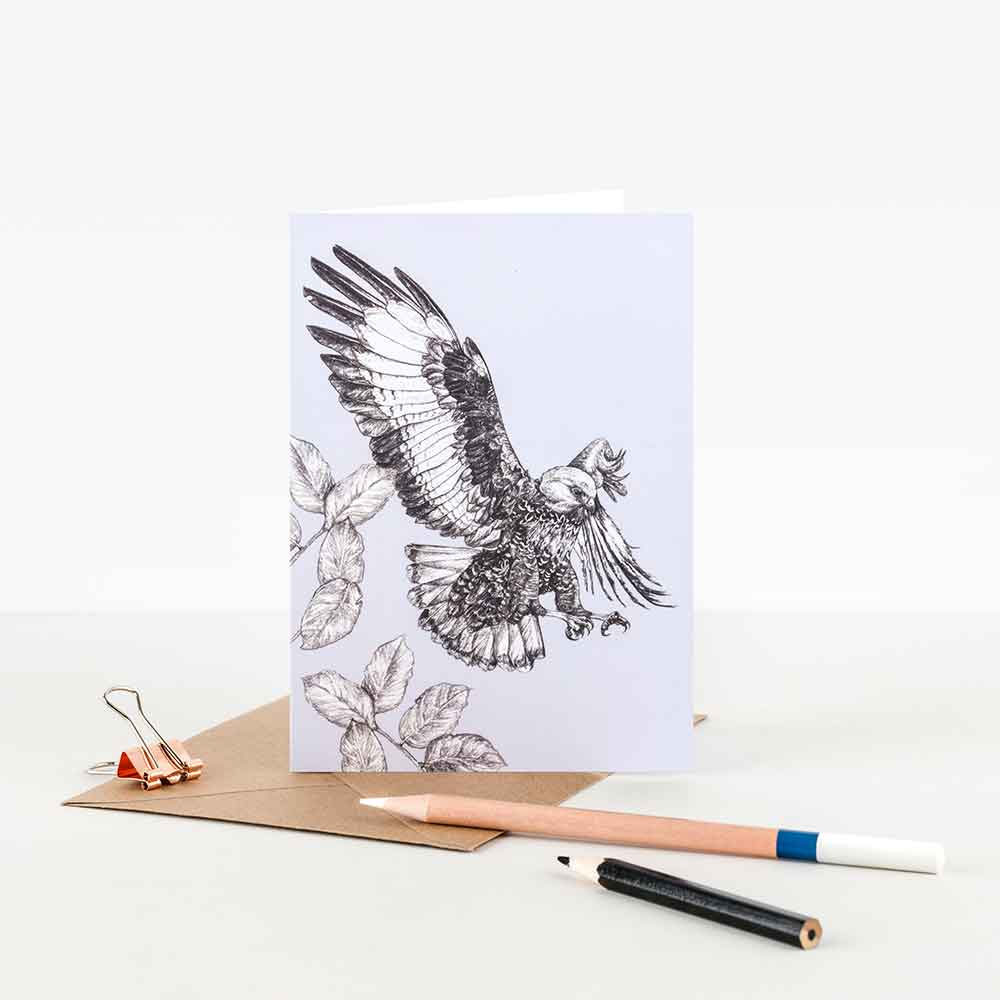 Jackal-Buzzard-Illustration-Note-Card-Sky-Siouki