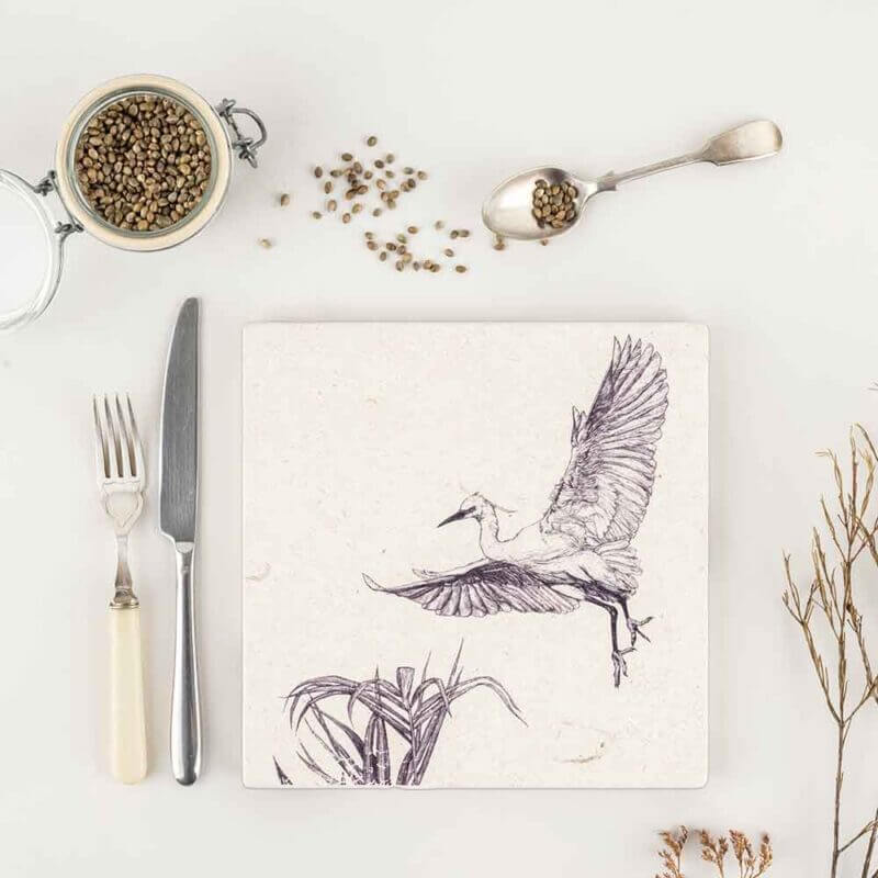 Little-Egret-Natural-Stone-Placemat-Sky-Siouki