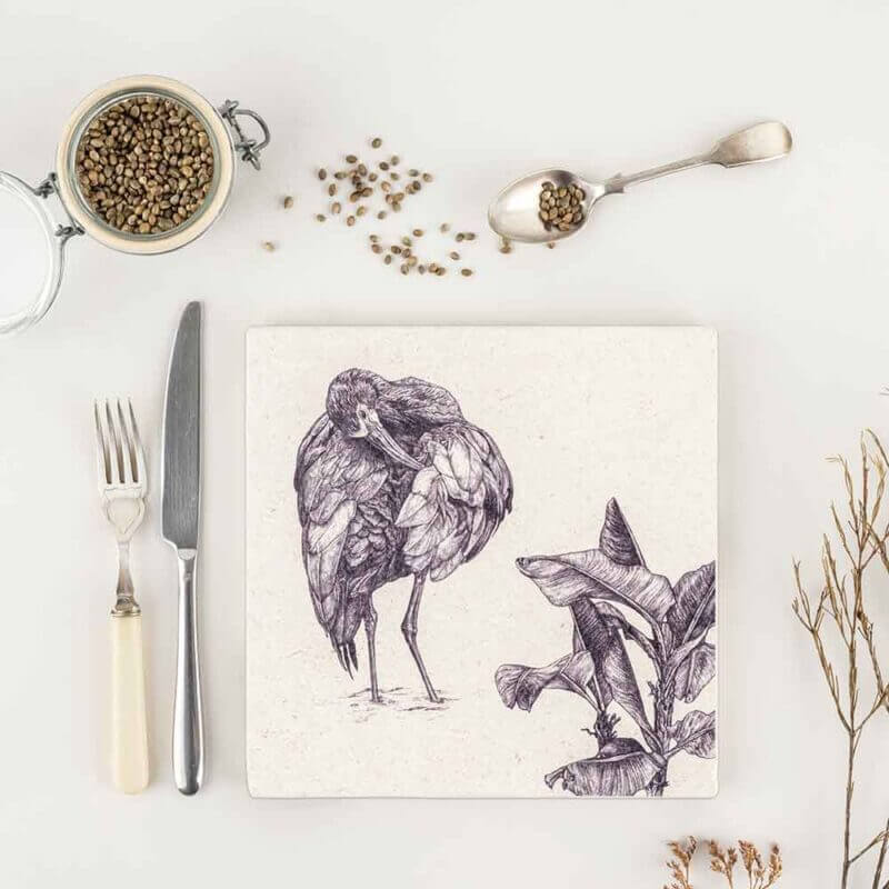 White-Faced-Ibis-Natural-Stone-Placemat-Sky-Siouki
