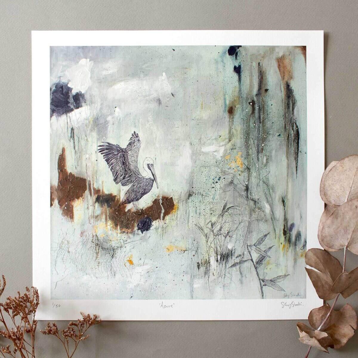 Azure Giclee Print