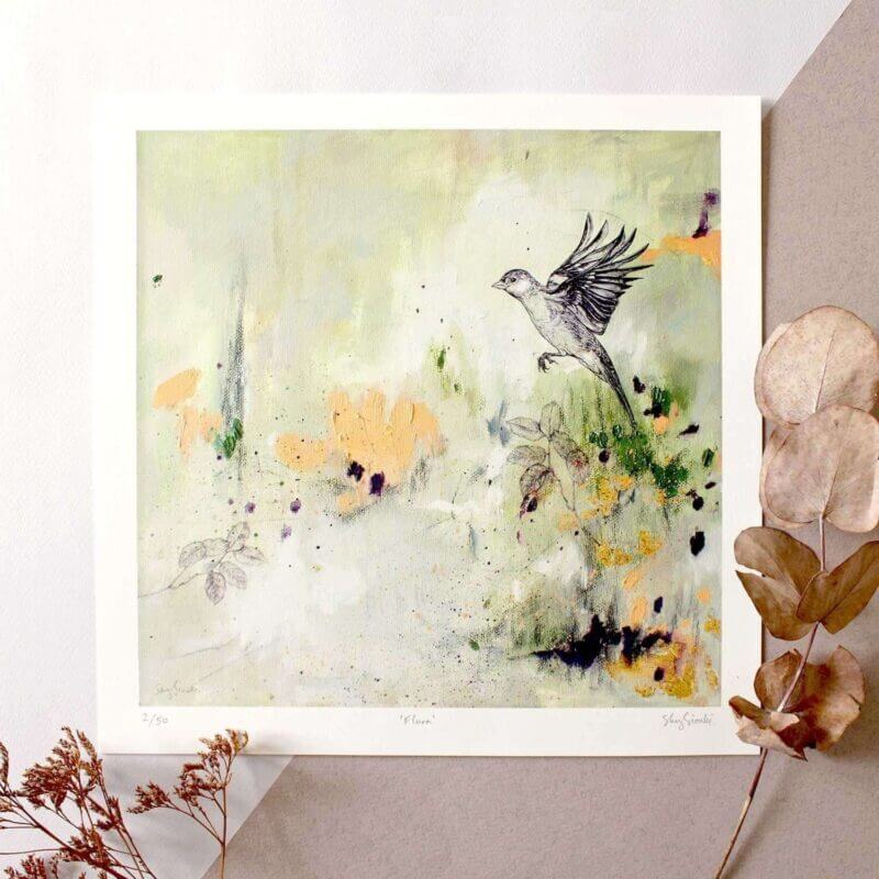 Limited Edition Giclee Print - Flora
