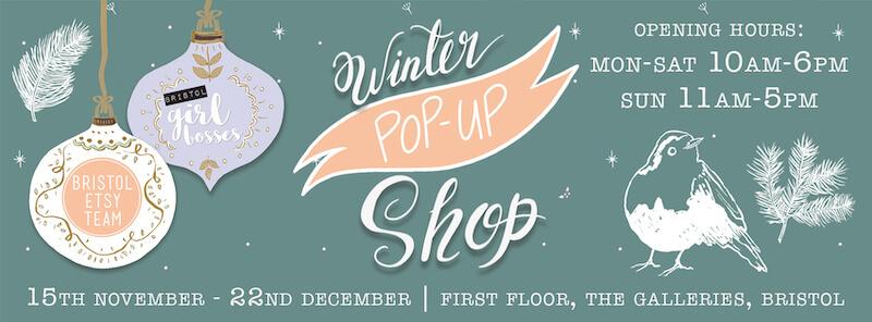 Bristol Winter Pop Up Shop