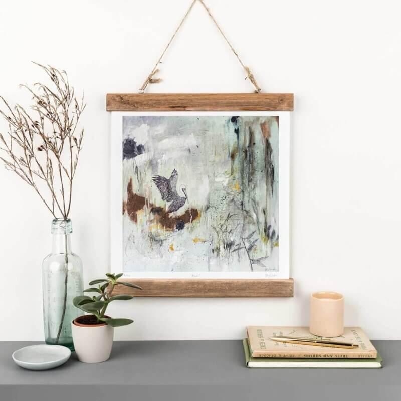 Sky-Siouki-Azure-Art-Print