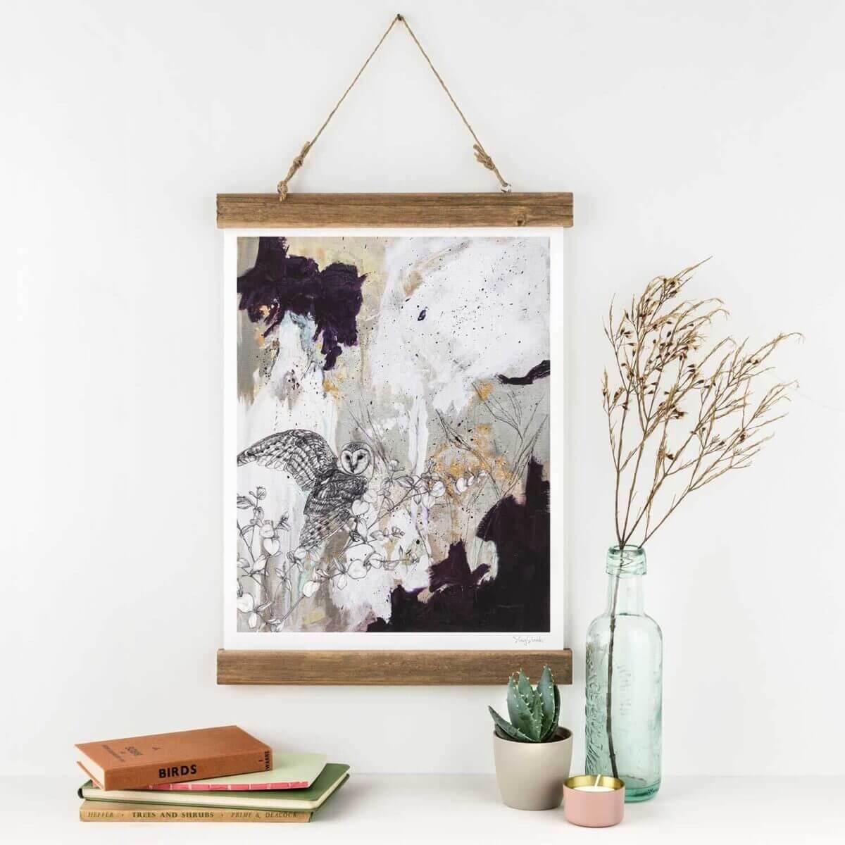 Barn-Owl-Art-Print-Sky-Siouki