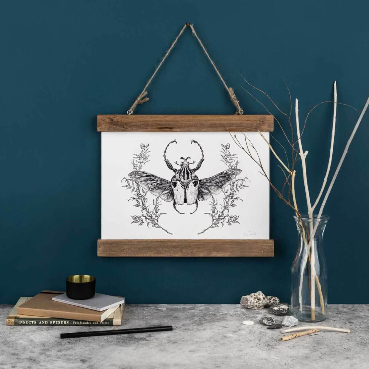 Sky-Siouki-Goliath-Beetle-Art-Print