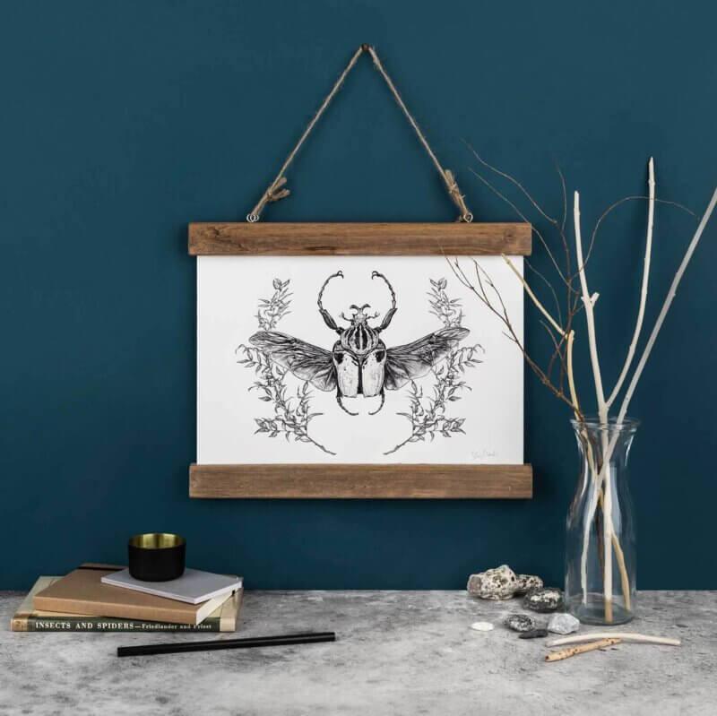 Goliath-Beetle-Art-Print-Sky-Siouki