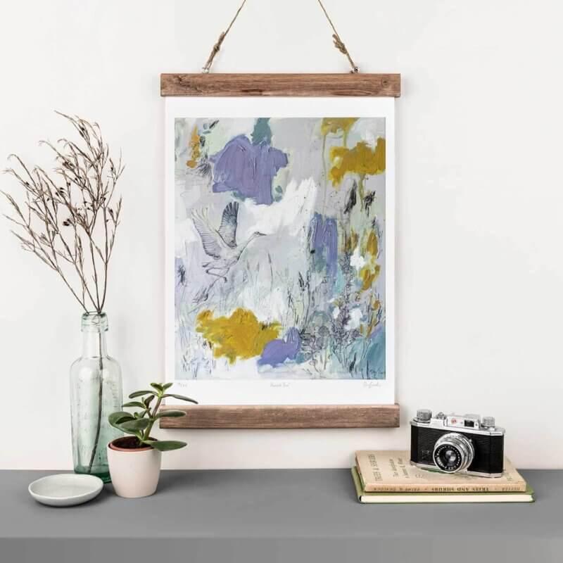 Sky-Siouki-Harvest-Sun-Art-Print