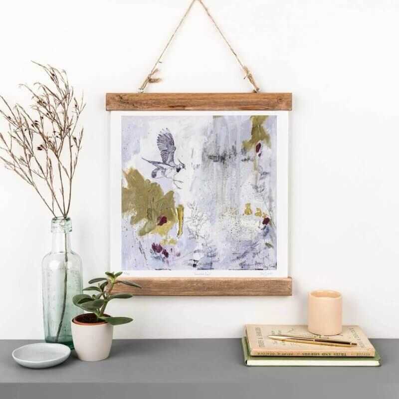 Sky-Siouki-Lavender-Leap-Art-Print