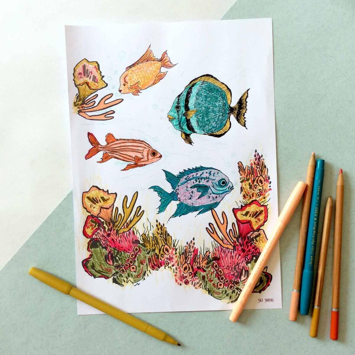 Under-The-Sea-Colouring-Sheet-Coloured-Sky-Siouki