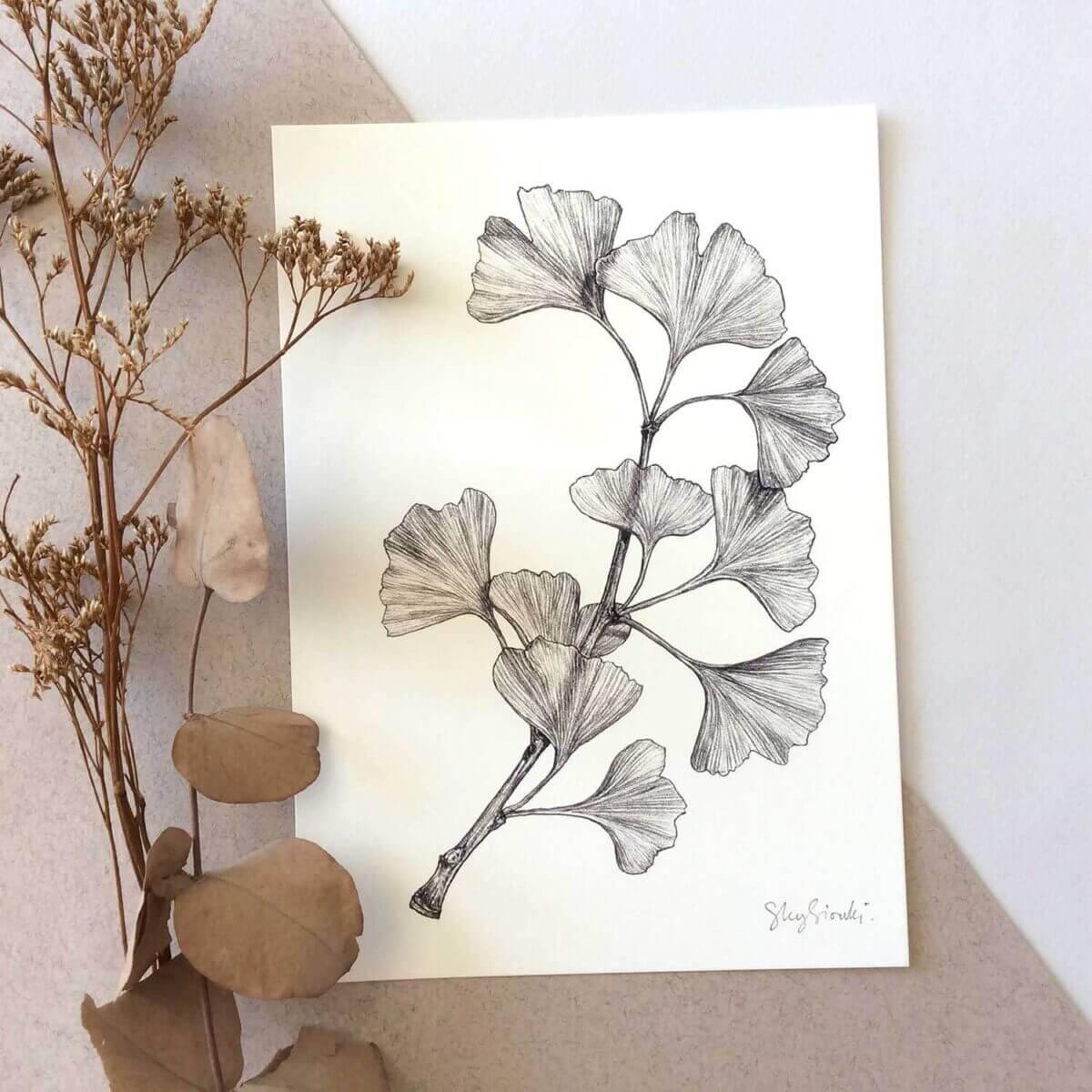 Gingko-Art-Print-Sky-Siouki