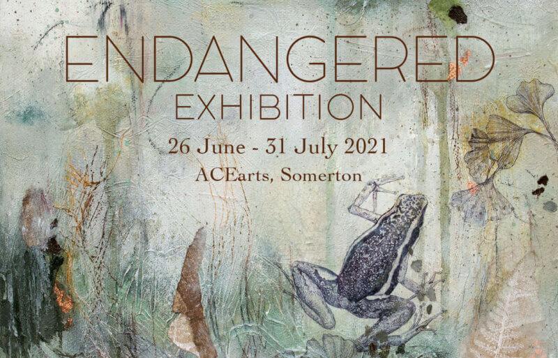 Endangered Exhibition Poster
