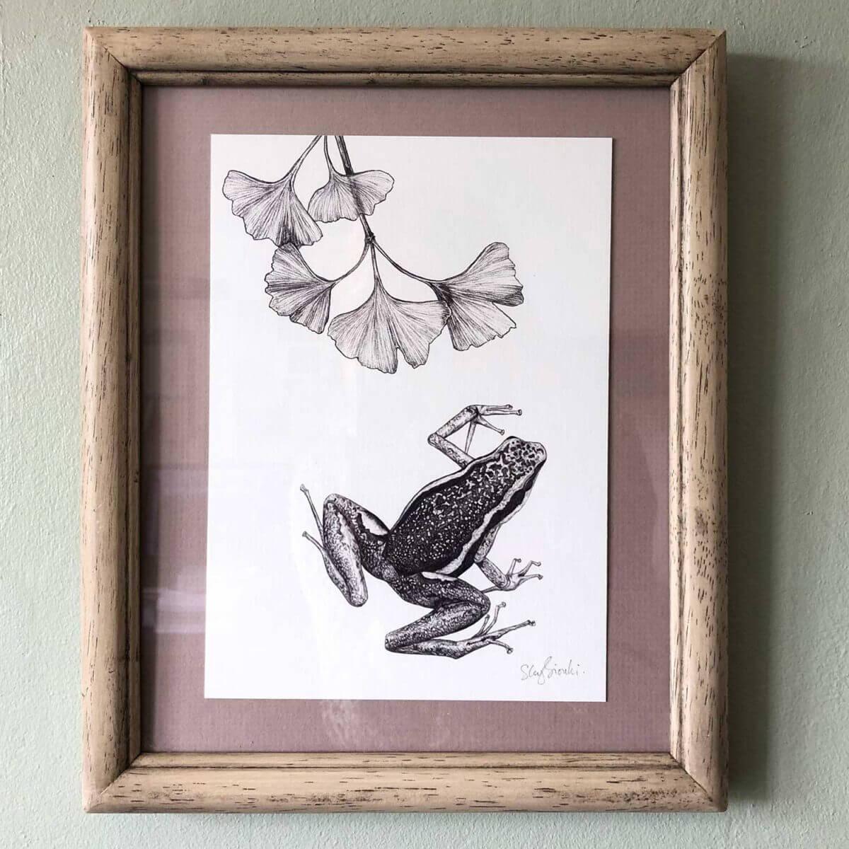 Poison-Dart-Frog-Print-Frame-Sky-Siouki