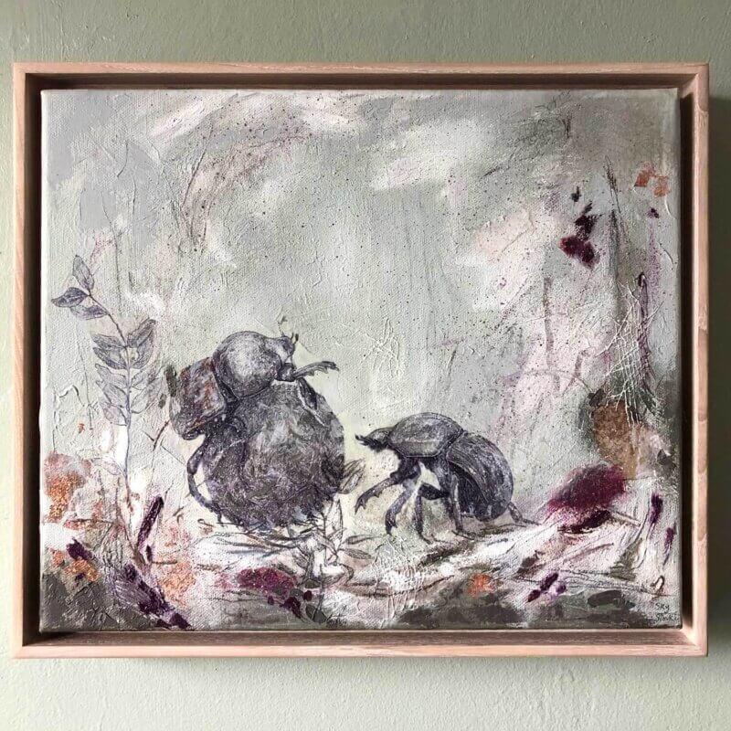 Dirty-Work-Painting-Framed-Sky-Siouki
