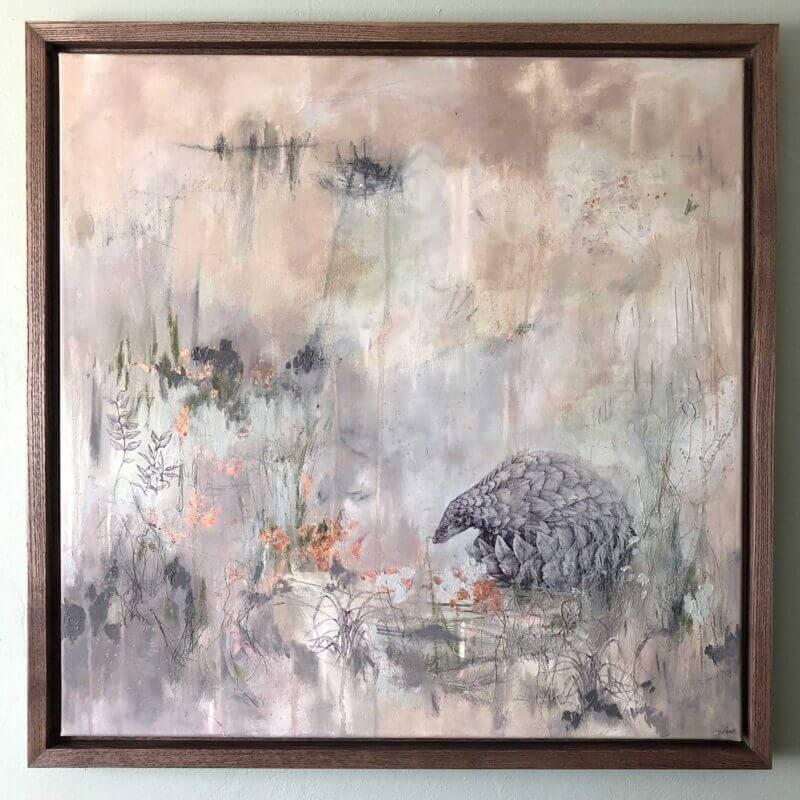 Shielding-Painting-Framed-Sky-Siouki